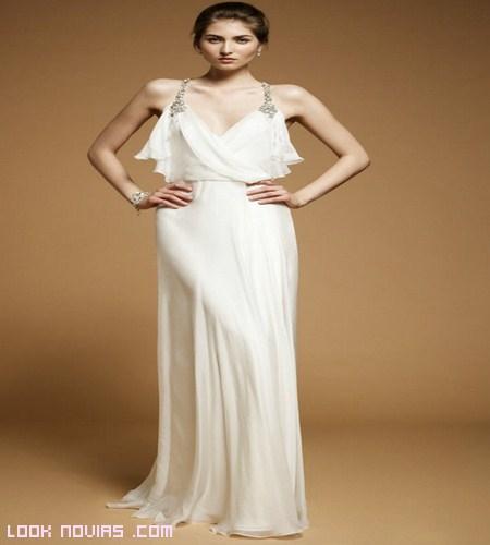 vestidos blancos sencillos
