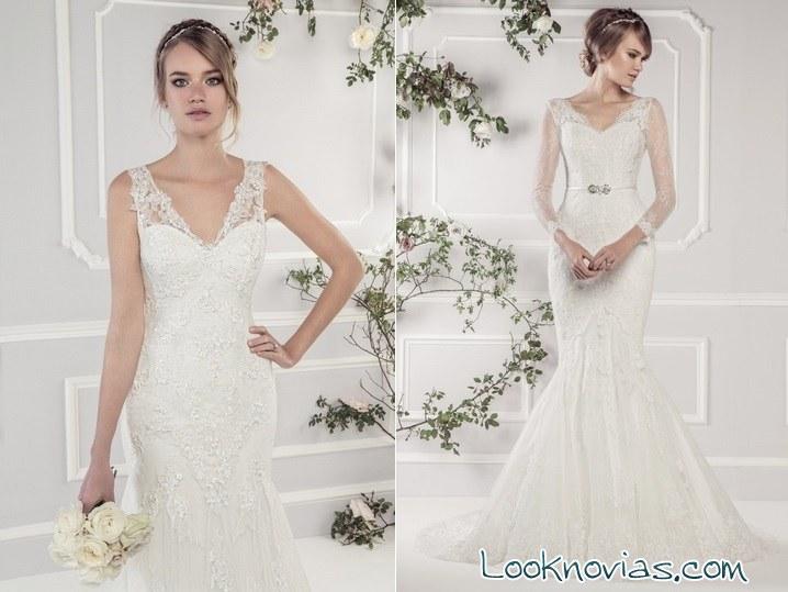 vestidos rectos de novia ellis bridal