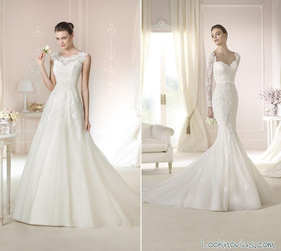 vestidos románticos de white one