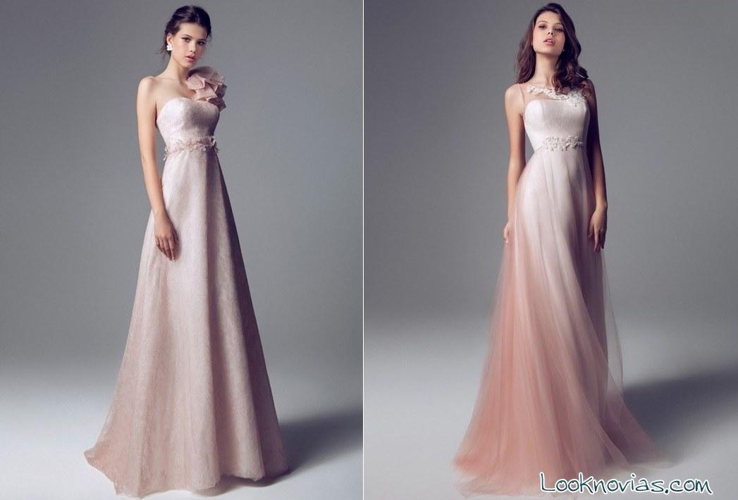 vestidos rosa Blumarine