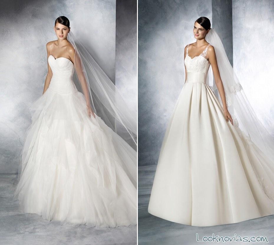 vestidos sencillos de white one 2016