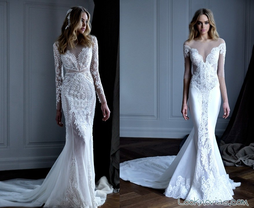 vestidos sirena pallas couture
