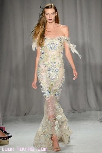 vestidos de pedrería corte sirena