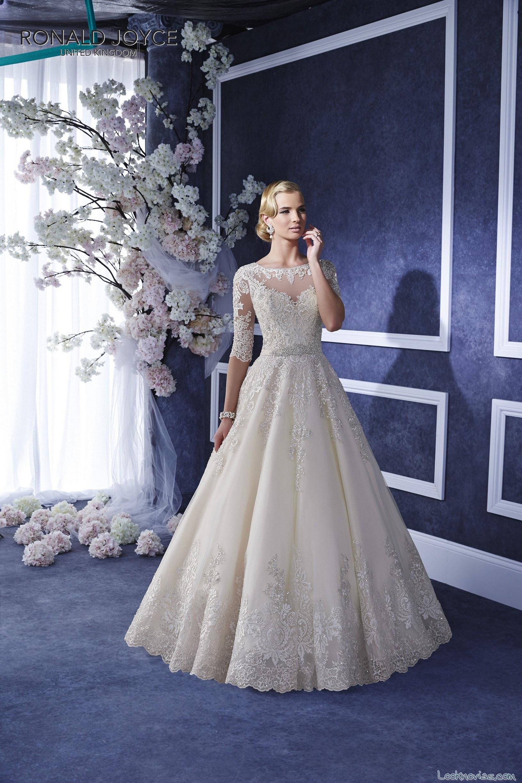 vestidos sirena ronald joyce nueva colección