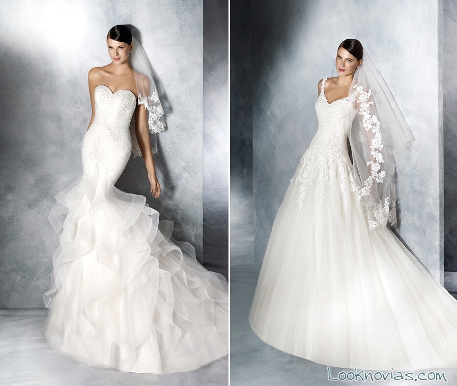 vestidos white one 2016 con velo
