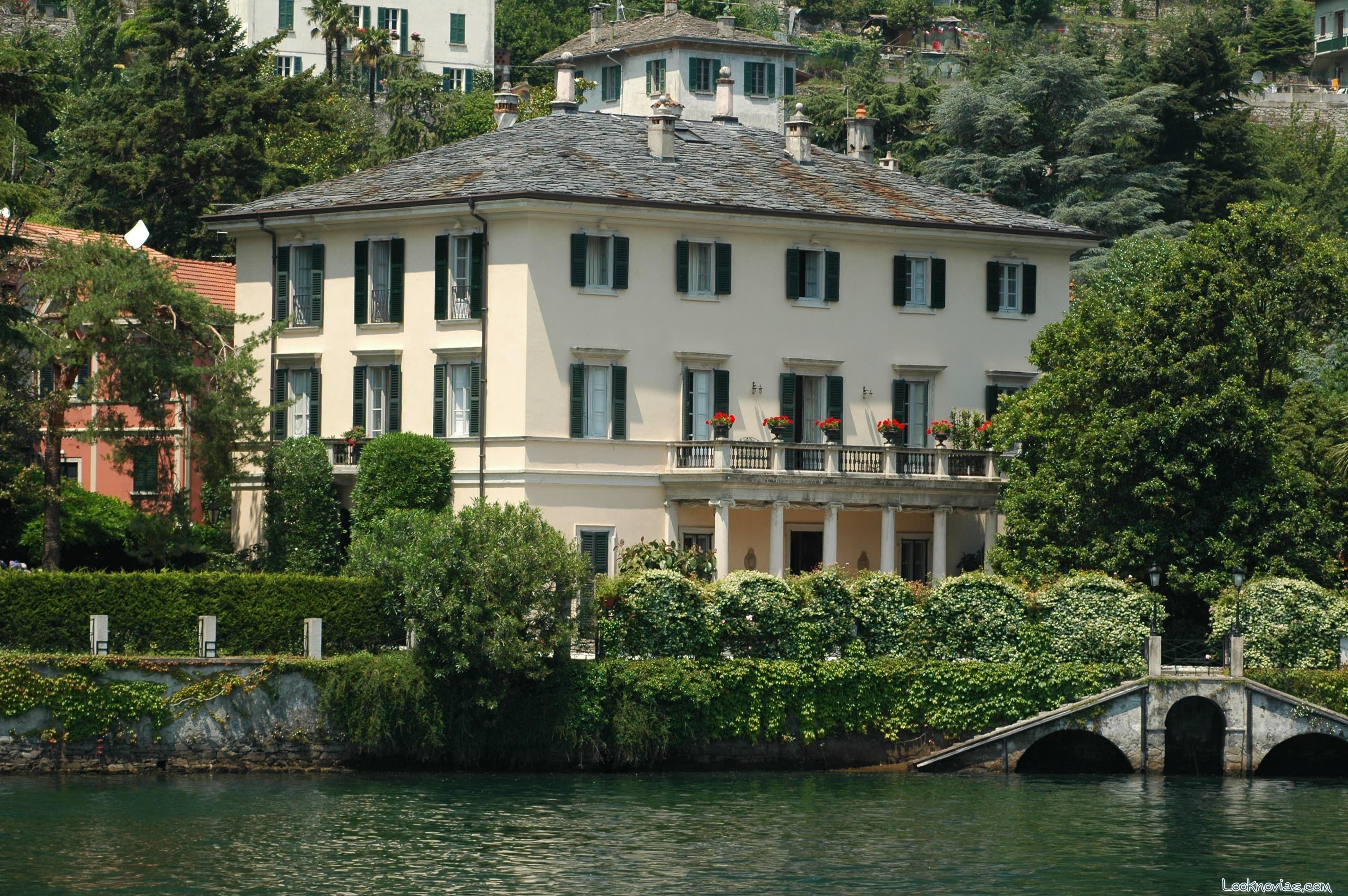 villa de george clooney