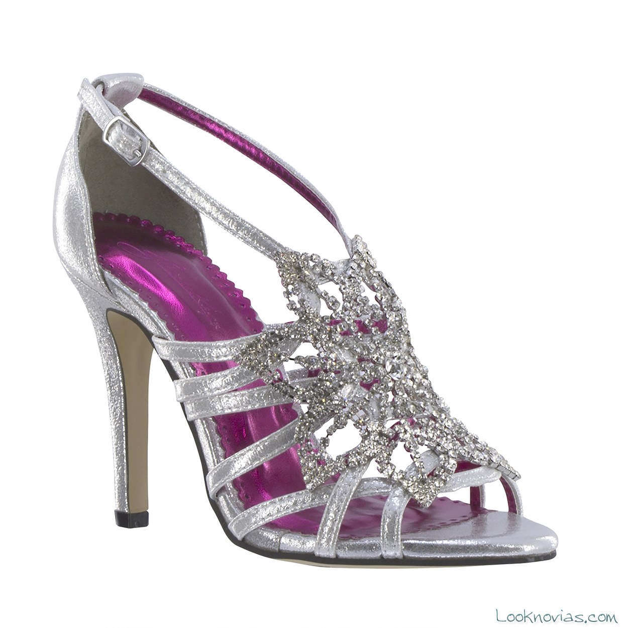 zapato pedrería novias