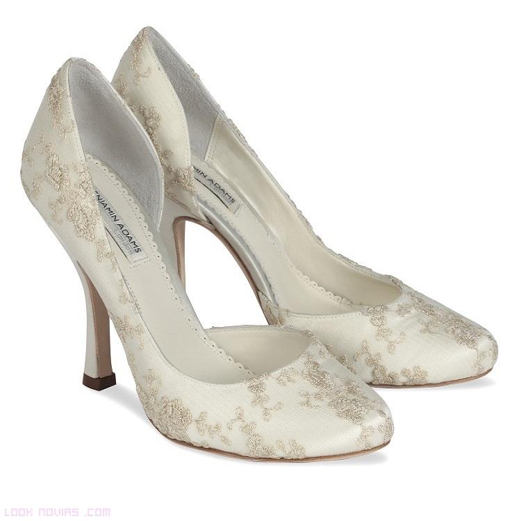Bordados para zapatos de novia