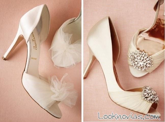 zapatos de tacón para novia