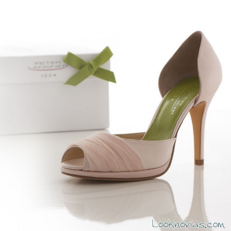 zapatos en color novias peter langner