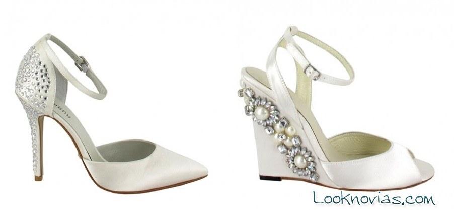 Zapatos Menbur para novias originales