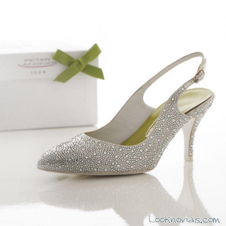 zapatos novias brillantes peter langner