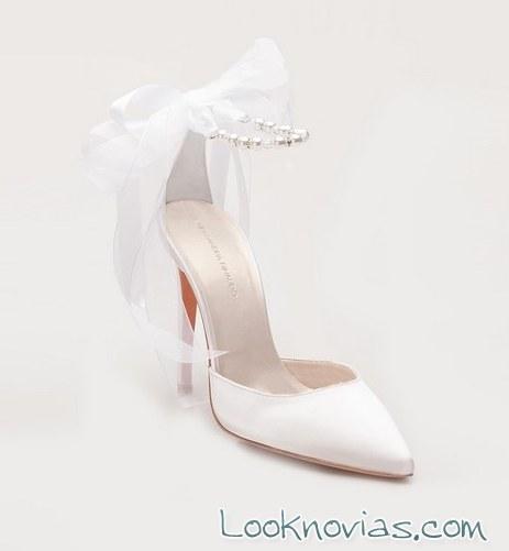 zapatos originales con tul