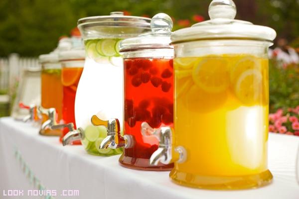 zumos caseros para bodas