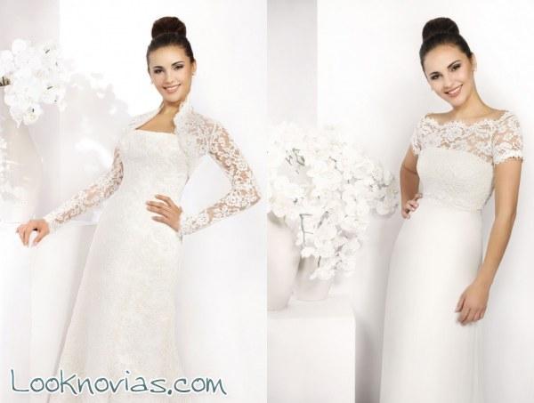 9ec8739b Boleros para completar tu vestido de novia   Look Novias