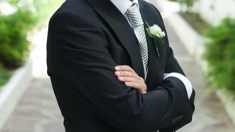 cómo debe vestir el padrino