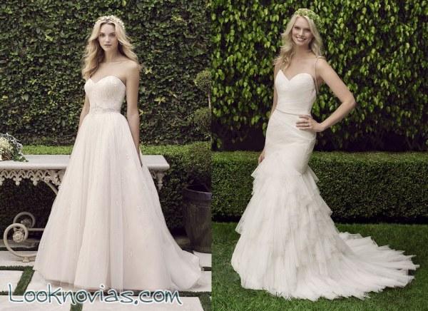 e8289e1e32 Nuevos vestidos para novias gracias a Casablanca