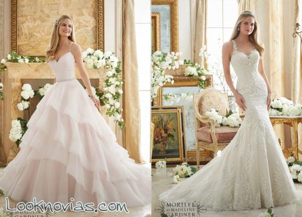 c4a850898 6 increíbles vestidos para novia por Mori Lee