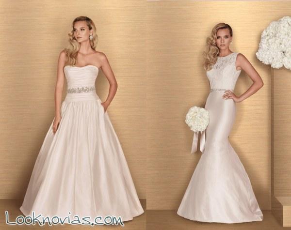ce0f8178c Colección de novia llena de tendencias para este 2016 | Look Novias