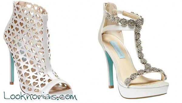 38e3bcc6 Zapatos de Novia Betsey Johnson | Look Novias